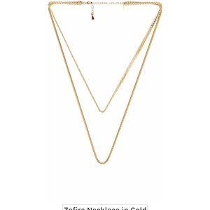 REVOLVE Shashi Gold necklace NWOT